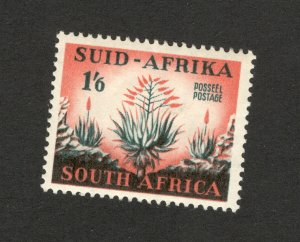 SOUTH AFRICA-MH STAMP-FLORA-FLOWERS