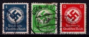 Germany 1934 Official Dienstmarke, Part Set [Used]