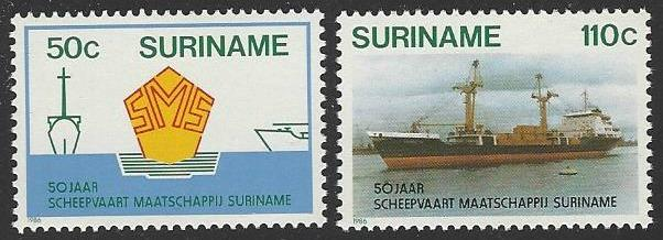 Suriname #752-753 MNH Full Set of 2