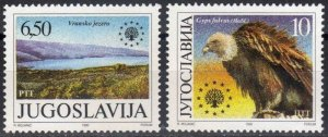 1989 Yugoslavia 2452-53 Nature protection 3,00 €
