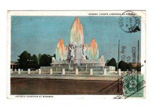 Cuba  post card 1928