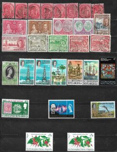 COLLECTION LOT OF 30 SAINT VINCENT 1916+ STAMPS CLEARANCE