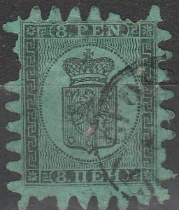 Finland #7  Fine Used   CV $170.00  (S6609)
