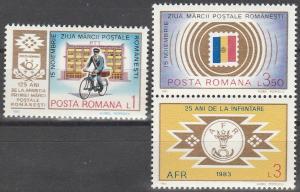 Romania #3150-51 MNH F-VF (SU6481)