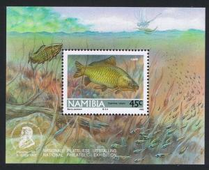 Namibia Freshwater Angling MS SG#MS591a MI#Block 14