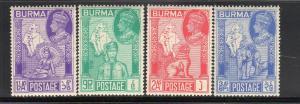 BURMA #  1946  PEACE ISSUE  MINT  VF NH  O.G