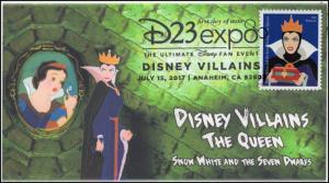 17-182, 2017, Disney Villains, The Queen, Snow White, Pictorial, FDC