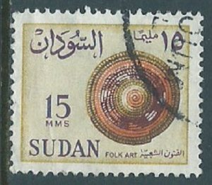 Sudan, Sc #148, 15m Used