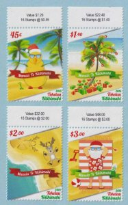 TOKELAU ISLANDS 448 - 451 COMPLETE SET  MINT NEVER HINGED OG ** EXTRA FINE!