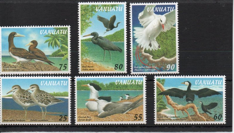 Vanuatu 697-702 MNH .
