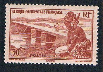 French West Africa 37 MLH Bamako Dyke (BP1003)