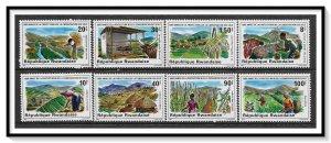 Rwanda #1001-1008 Soil Conservation Set MNH