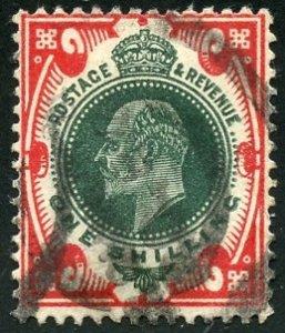 Great Britain Scott 138a UFLH - 1911 1/s King Edward VII - SCV $70.00