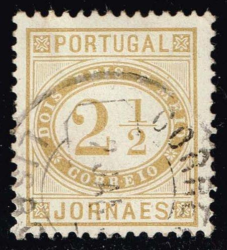 Portugal #P1 Newspaper Stamp; Used (1.40)