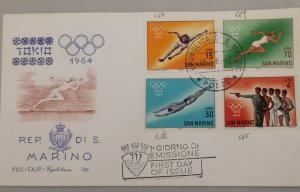 Olimpic collections FDCs