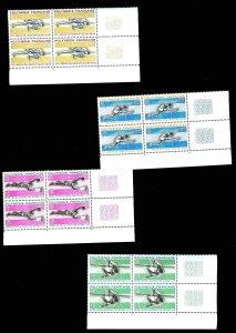 FRENCH POLYNESIA 223-26  Mint (ID # 74691)- L
