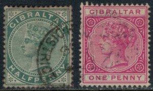 Gibraltar #9-10  CV $7.00
