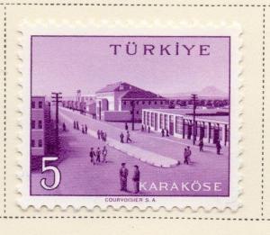 Turkey 1959 Early Issue Fine Mint Hinged 5K. 091528