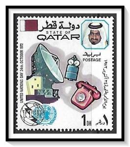 Qatar #323 United Nations Day MH