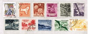 AUSTRALIA CHRISTMAS ISLAND MINT STAMPS LOT