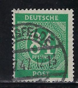 Germany AM Post Scott # 555, used