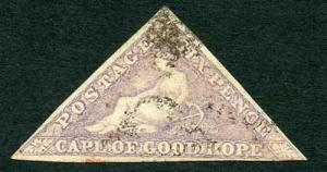 COGH SG7 6d Pale rose-lilac PB Printing Cat 300 pounds
