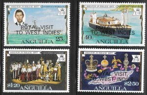 Anguilla # 297 - 300 Mint Never Hinged  [6711]