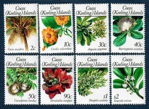 Cocos Islands 184-97 8 MNH Values (SCV $11.40)