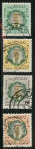 Kuwait 306-309 Used VF