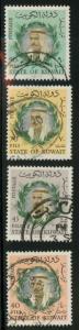 Kuwait 306-309 Used VF