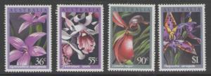 AUSTRALIA SG1032/5 1986 ORCHIDS MNH