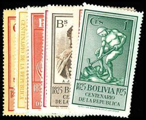 BOLIVIA 150-59  Mint (ID # 77372)