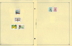 United Arab Emirates 1973-2003 Postally Used Hinged on Scott International Pages