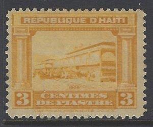 Haiti, Scott #128; 3c de p Market, MH