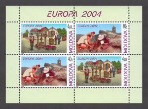 Moldova 2004 CEPT Europa Vacation MNH stamps Booklet
