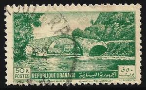 Lebanon 1950 Scott# 242 Used