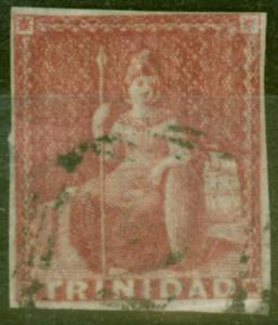 Trinidad 1857  Rose-Red SG12 Good Used