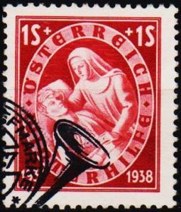 Austria. 1937 1s+1s S.G.811 Fine Used