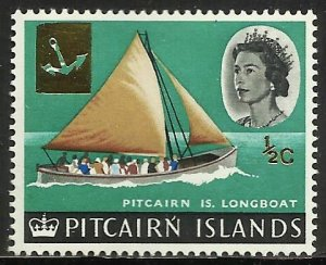 Pitcairn Islands 1967 Scott# 72 MH