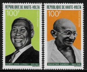 Burkina Faso #C60-1 MNH Set - Famous Men