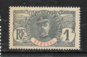 Senegal #57 1c  ( M)  CV $1.40