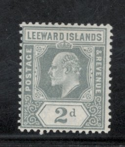 Leeward Islands 1910 King Edward VII 3p Scott # 44 MH