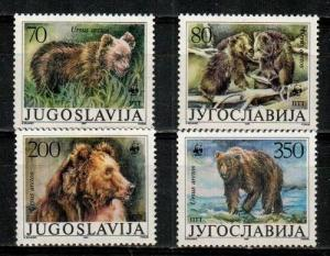 Yugoslavia Scott 1880-83 Mint NH (Catalog Value $16.20) - WWF