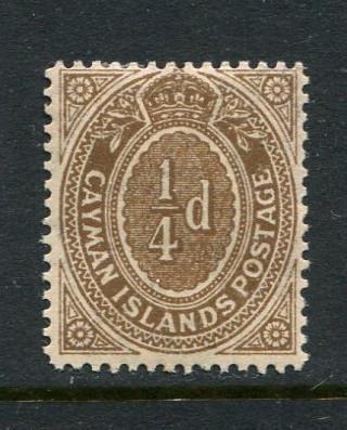 Cayman Islands #31 Mint