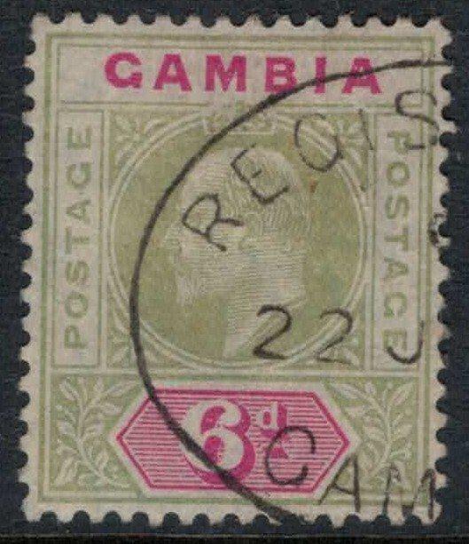 Gambia #52   CV $75.00