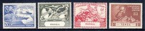 Tonga - Scott #87-90 - MNH - Some gum toning - SCV $3.25
