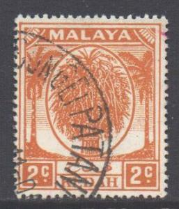 Malaya Kedah Scott 62 - SG77, 1950 Sheaf of Rice 2c used