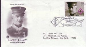 U.S.FDC Sc.# 3964 Daniel J. Daly PCS Cachet L320