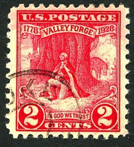 U.S. #645 Used F-VF