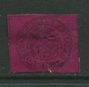 STAMP STATION PERTH Italy #16?  Roman States Mint Imperforate CV$?